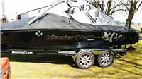2008 X-14 MASTERCRAFT CROSS OVER SURF,SKI,BOARD DIRECT DRIVE OPEN BOW TOWER BOAT