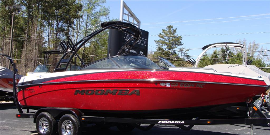 2014 Moomba Mobius Lsv Fire Red Metal Flake For Sale In Buford Georgia
