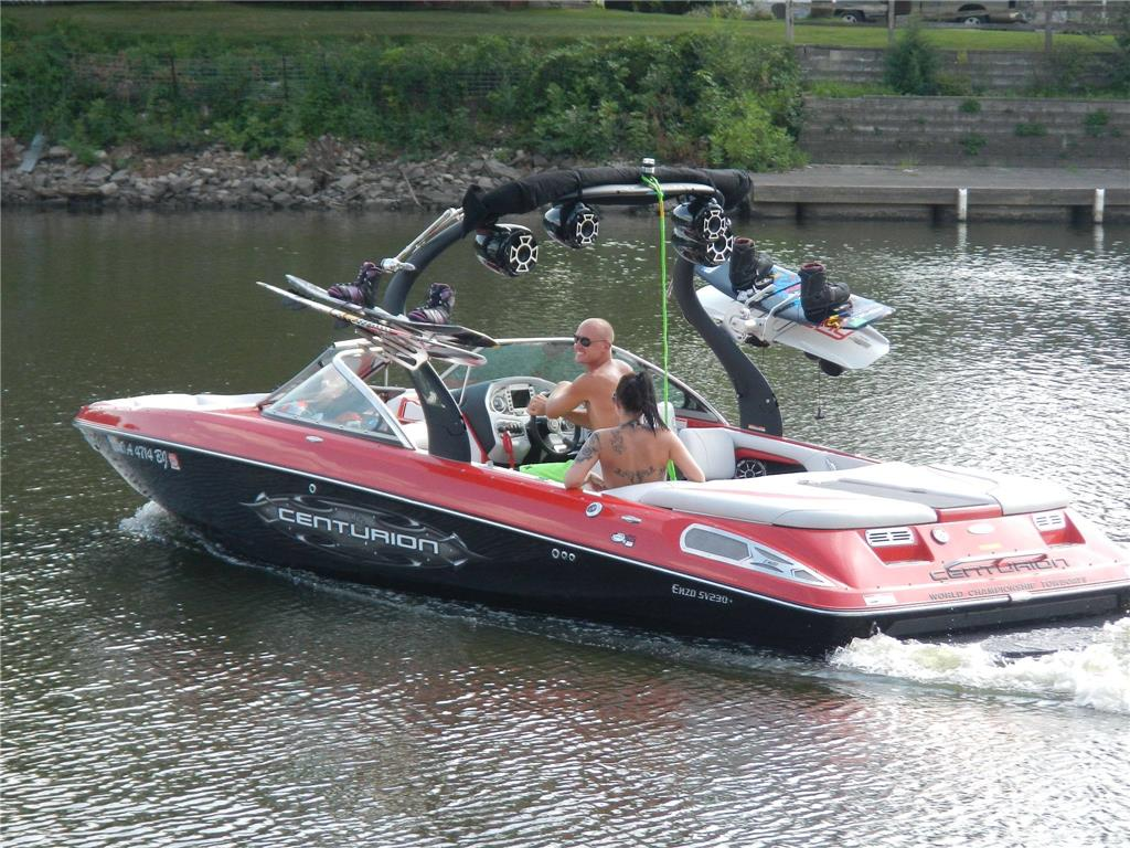2012 centurion enzo 230 for sale in greene iowa for Greenes boat and motor