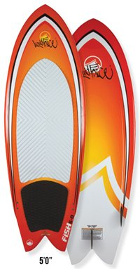 Liquid Force Fish 5-0 Wakesurf (2012)