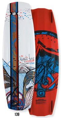 Liquid Force Watson Hybrid 139 Wakeboard 2012