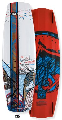 Liquid Force Watson Hybrid 135 Wakeboard 2012
