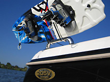 Oasis Wakeboard Rack for Towerless Boats