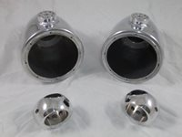 Motorcycle Crash Bar Speaker Cans