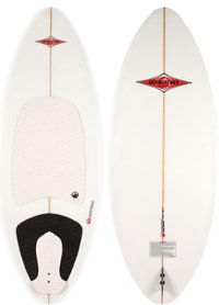 Custom Wakesurfer 4-8ft by Liquid Force 2011