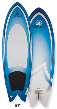 Liquid Force Fish 5-6 Wakesurf (2012)