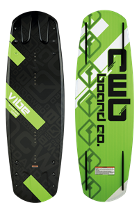 CWB Vibe Wakeboard with Vapor Boots LG/XL 142 (2011)