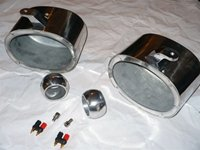 6 x 9 Polished Speaker Cans