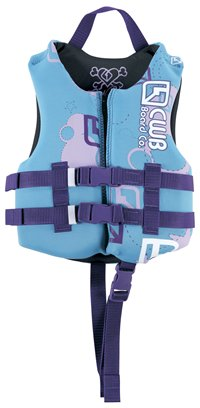 Girls Child Vests Blue by CWB 2010