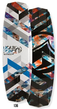 Liquid Force Witness 136 Wakeboard 2012
