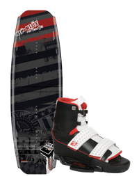 Hyperlite Premier Wakeboard 141 with Circuit Boot (2012)