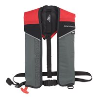 Sospenders Auto/Manual Inflatable Life Jacket Red 2000007057