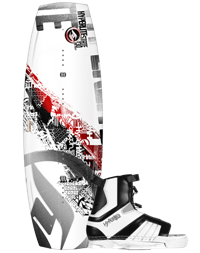 Hyperlite State Wakeboard 145 with Remix Boot 10-14 (2012)