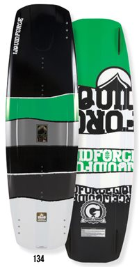 Liquid Force Deluxe Hybrid 134 Wakeboard 2012