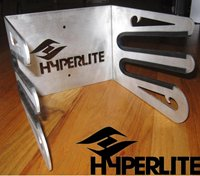Hyperlite Logo Claw Storage Rack