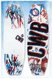 CWB Kink Wakeboard with Vapor Boots L/XL 146 (2012)