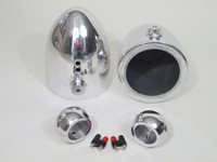 "V2 6.5"" Polished Speaker Cans"