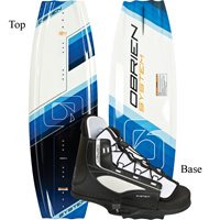 Obrien System Wakeboard 124 with System Jr Boot (2012)