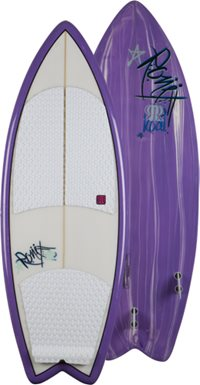 Ronix Koal Grape 4-10 Wakesurf 2012