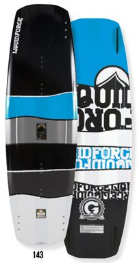 Liquid Force Deluxe Hybrid 143 Wakeboard 2012
