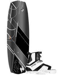 Hyperlite ForeFront Wakeboard with Remix Boot Std or XL 144 (2012)