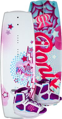 Ronix August Girls Wakeboard with August 2-6 Boot 120 (2012)