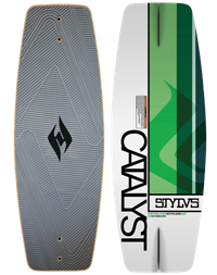 Hyperlite Catalyst Stylus Wakeskate 43 in (2012)
