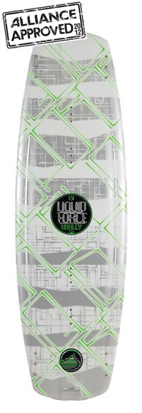 Liquid Force Harley 135 Wakeboard 2012
