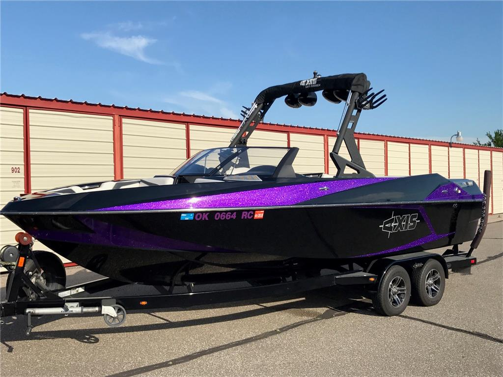 Axis Boats For Sale >> 2015 Axis T23 Purple Metal Flake For Sale In Oklahoma City Oklahoma