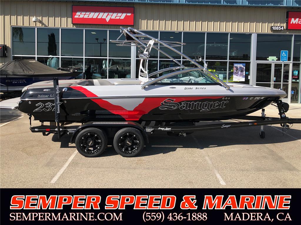 2012 Sanger Boats V237 LTZ STOCK#156E2