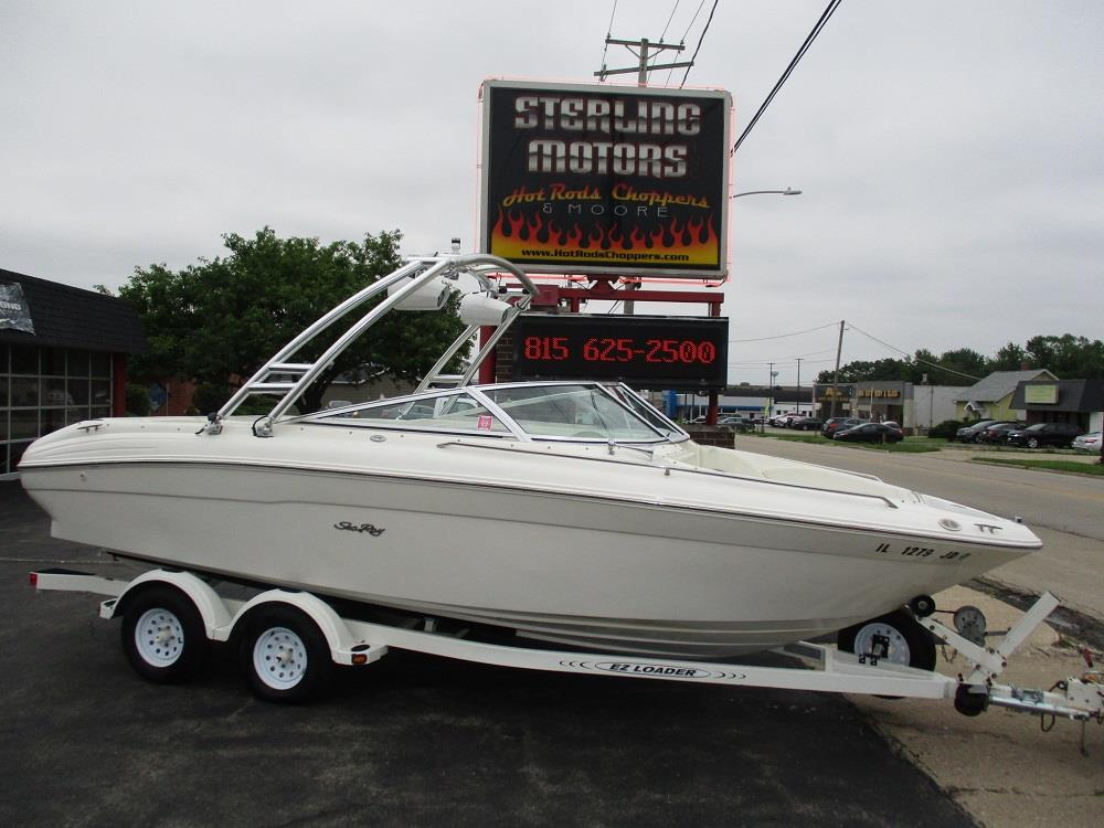 1998 Sea Ray 210 Bowrider Signature Custom For Sale in Sterling