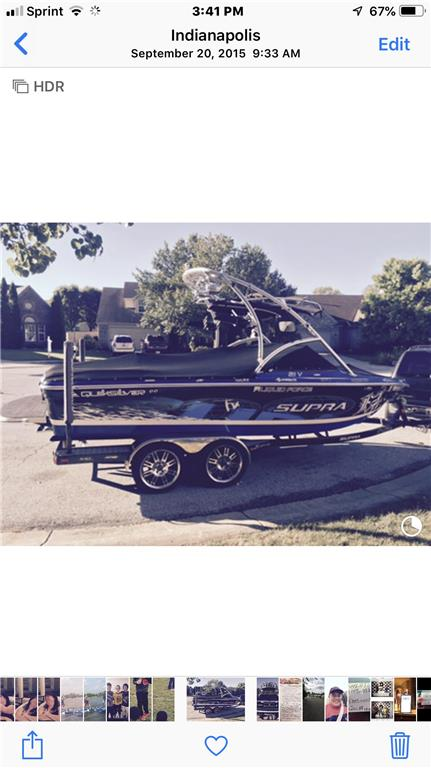 Lower price! Top of the line wakeboard boat in 08'