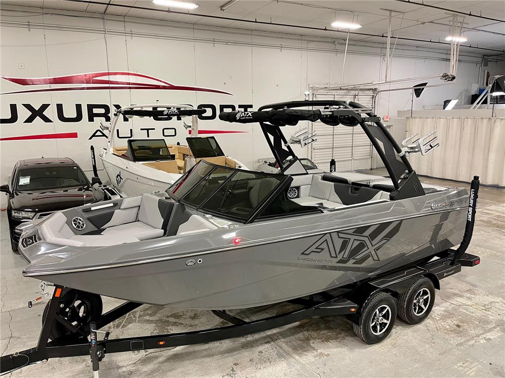 2021 ATX 20 Type-S Shadow Edition ONLY $570 Per Month OAC! New Surf Boat!