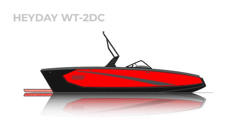 2022 HEYDAY WT-2 SURF BOAT MERCRUISER SWEET!