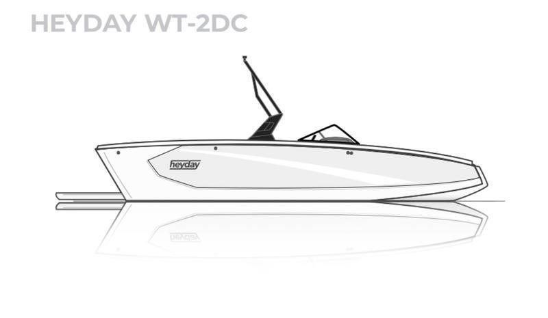 2021 HEYDAY WT-2 LOADED SURF BOAT!