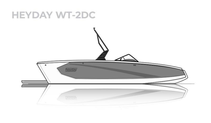 2021 HEYDAY WT-2 SURF SURF SURF! PERFORMS LIKE HIGH END BOAT