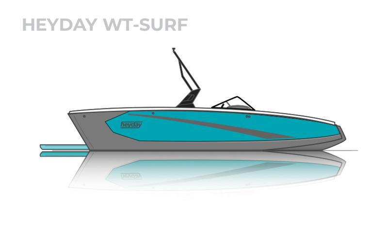 HEYDAY WT-SURF, SWEET BIG SURF BOAT FOR WHOLE FAMILY