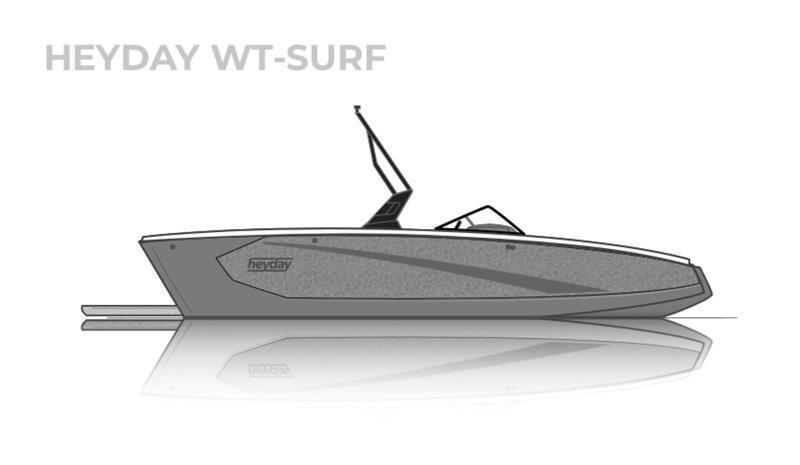 2021 HEYDAY WT-SURF FAMILY SURF BOAT LOADED WITH OPTIONS