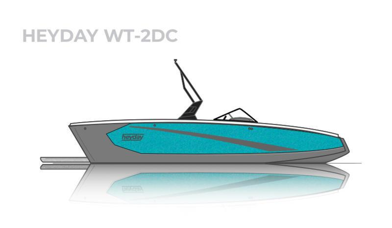 2021 HEYDAY WT-2 SURF BOAT LOADED AND PERFORMS LIKE NONE OTHER
