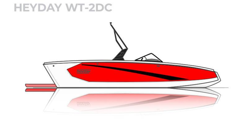 2021 HEYDAY WT-2 GREAT SURF BOAT