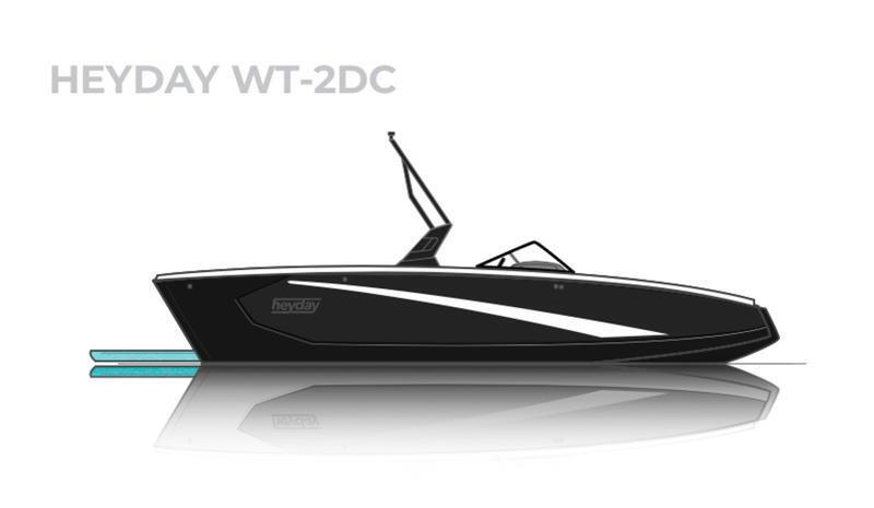 2021 HEYDAY WT-2 - SURF BOAT LOADED