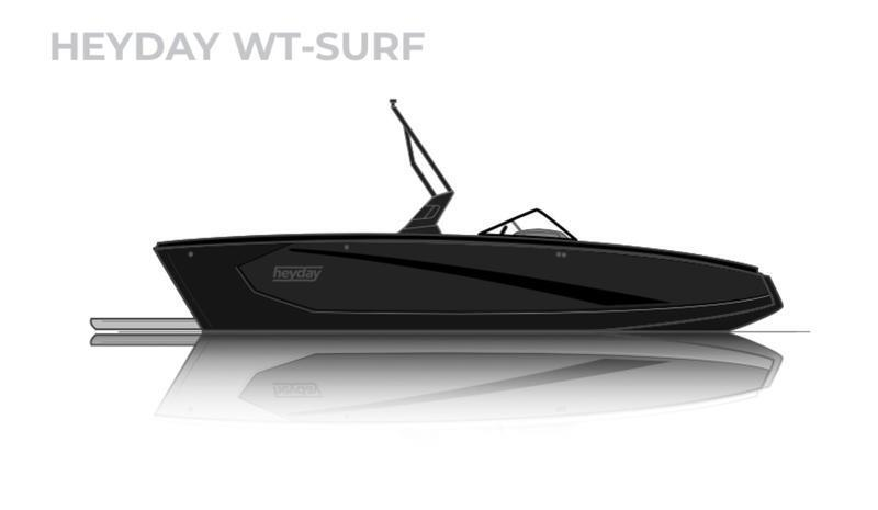 2021 HEYDAY WT-SURF LOADED SURF BOAT