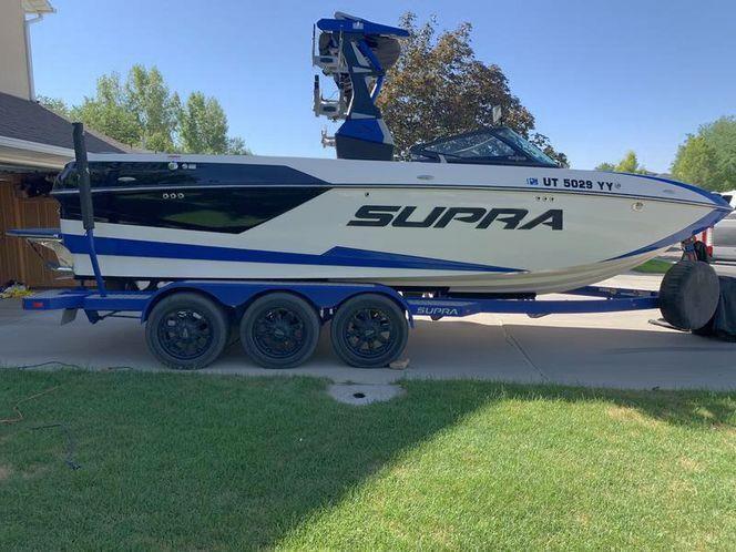 2018 Supra SL550 with Triple Axle Trailer