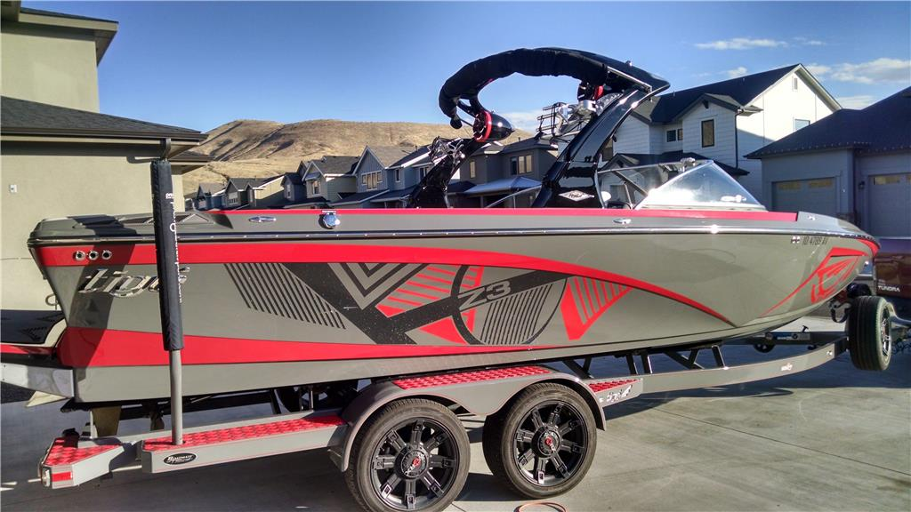 2015 Tige Z3, 400 HP with Low Hours