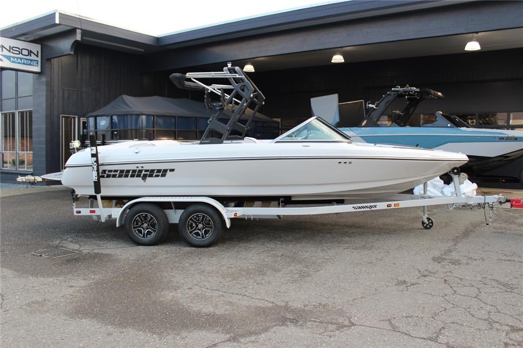 NEW 2021 Sanger Boats V215S Surf Boat 7 Year Warranty!