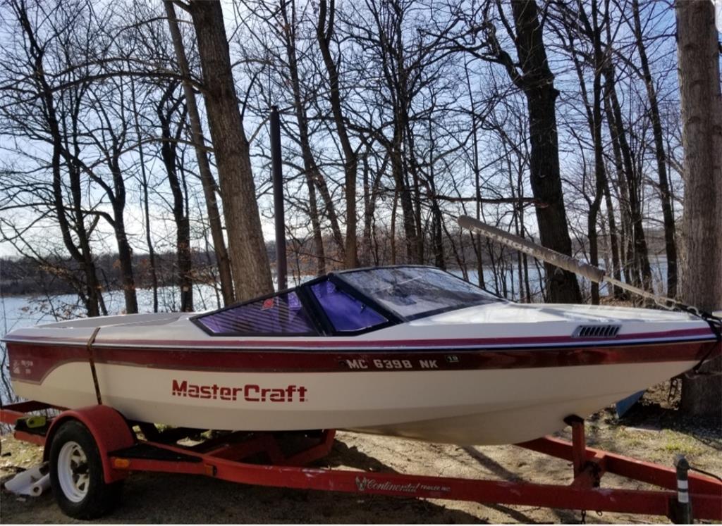 1987 mastercraft prostar 190