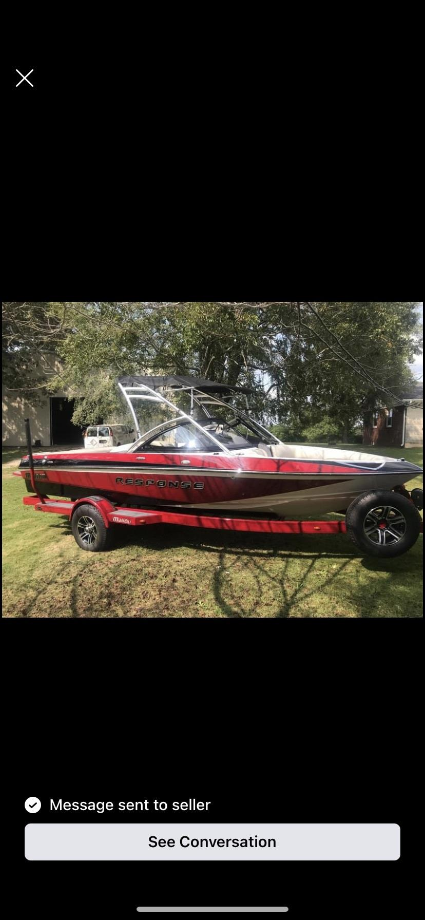 2015 Malibu Response TXI Ski Wake Boat