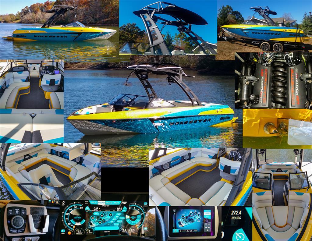 2015 malibu vlx w ls3 corvette 450hp engine z5 bimini for sale