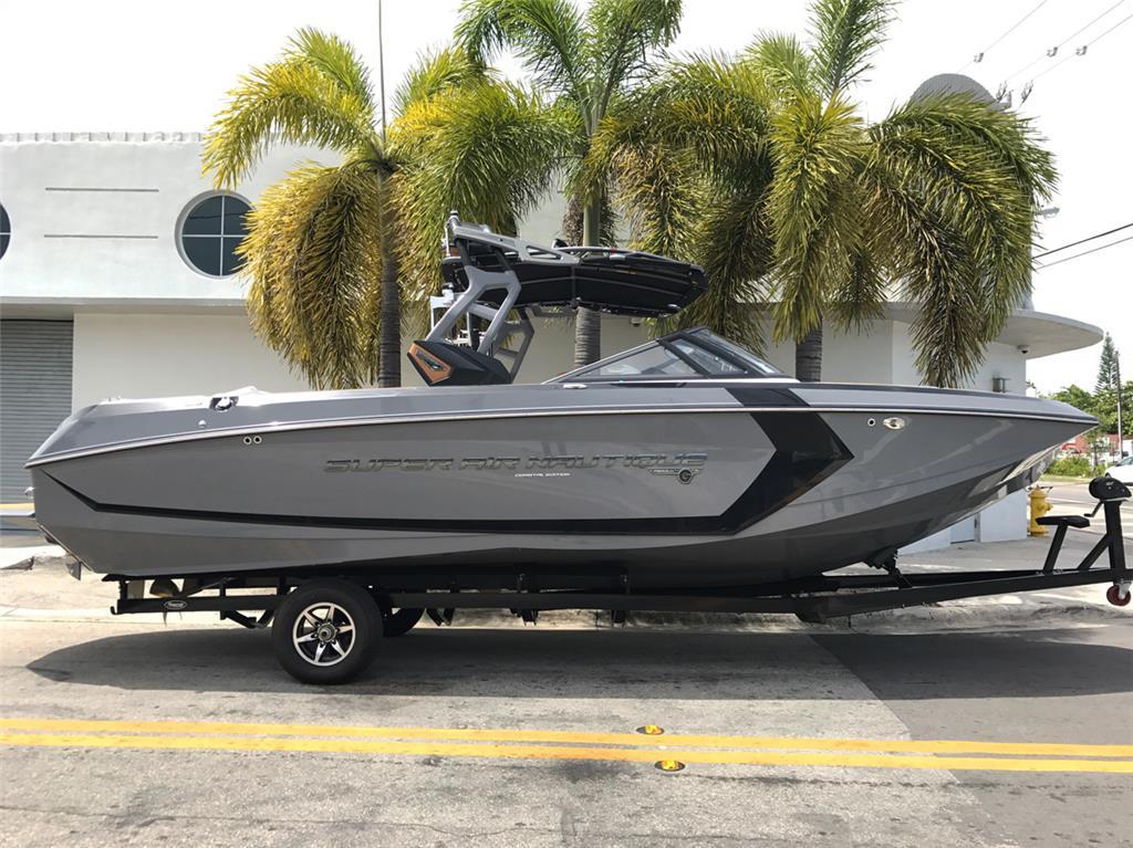 2017 Super Air Nautique G25 Wake Boat - Coastal - Tungsten Grey (i7032)