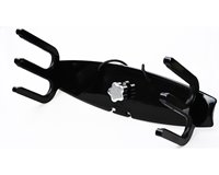 Reborn Pro Ski Rack with Extended Swivel - Black